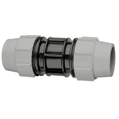 MDPE straight coupling