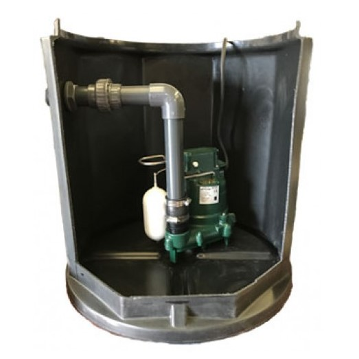Zoeller Sump Pump System (Z150) With Alarm
