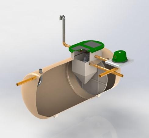 Bioficient GRP cutaway