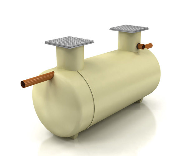 Shallow-dig tank