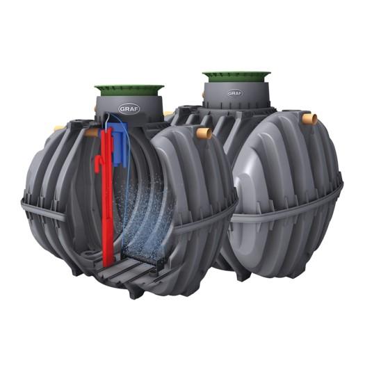 Graf one2clean – 2-tank